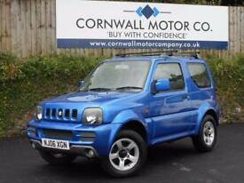 SUZUKI JIMNY 1.3 JLX 3d 83 BHP NEW MOT AND SERVICE (blue) 2006