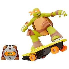 Teenage Mutant Ninja Turtles Remote Controlled Skateboardin