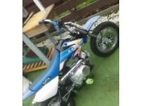 X stream 50cc new condition 150£ pit bike not Pw py 110 80 90 demon x