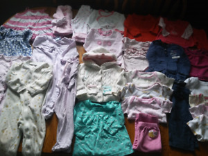 N- 25+ items of girls 6-9m