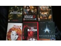100+ dvds,ex condition some rarities can split,offers!!!