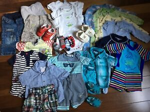 Baby boy clothing - 3 to 6 months lot