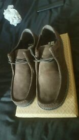 Mens Size 11 Penguin Shoes / Loafers BRAND NEW IN BOX - Brown