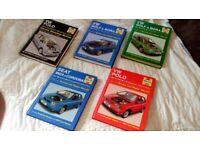Haynes VW repair manuals (great condition)