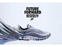 BNIB Nike Air Max 97 OG QS Silver Bullet 2017 in UK Size 10