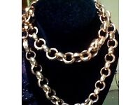 Chunky Vintage Costume Necklace