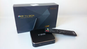 T95 Android TV Boxes Brand New Fully Programmed Kodi 17.3 2GB