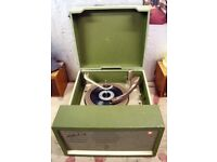 1950s McMichael Twin 4 Record Player (Working Order)