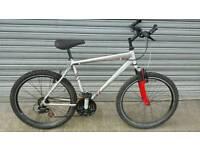 Raleigh 21 speed full susp mountain bike. ..absolute bargain
