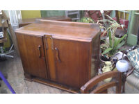 Vintage 2 Door Sideboard with inner drawers & shelf