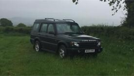 Land Rover Discovery TD5 7 SEATER (AUTO) LOW MILEAGE
