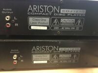 Ariston Compact CD Player For Sale
