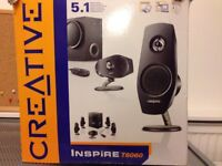 PC Creative Surround speakers