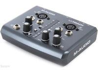 M-Audio M-Track USB audio interface