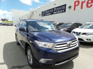 2013 Toyota Highlander Sport 4WD| Leather| Bluetooth| HTD Seats