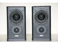Tannoy 631 Profile Speakers in Black Ash - Excellent Condition - Used As Surrounds - Retro Classics