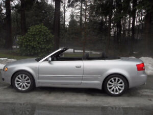 2004 Audi Cabriolet Convertible