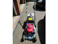 "Honda Izy Petrol Self Propelled Lawnmower 18"" - New Deck"