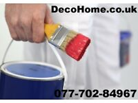 Short Notice Builder Painter and Decorators Call for Free Quote
