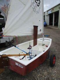 optimist sailing dinghy package