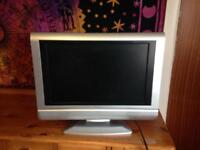 21inch tv with a 16 inch screen .