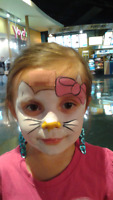 Face painting, glitter tatoos, balloon artistry