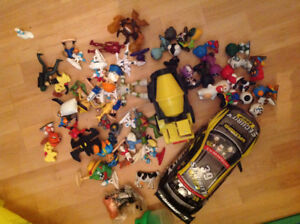 Lot of various toys