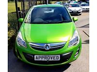 VAUXHALL CORSA 1.4 EXCLUSIV AC 3d AUTO 98 BHP Automatic! FSH! One (green) 2013