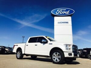 2015 Ford F-150 Platinum, 4x4, LOADED, 5.0L, MINT