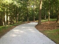 Need your driveway re graveled, driveway repatching/repaired?