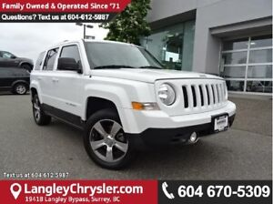 2016 Jeep Patriot Sport/North W/ 4X4, LEATHER UPHOLSTERY & NA...