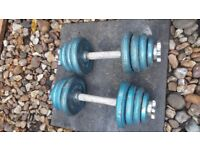 Weights -dumbbells