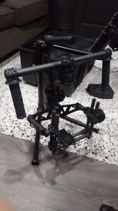 Movi M5 3-Axis Gimbal + Accessories - LIKE NEW USED A FEW TIMES