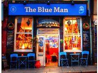 The Blue Man Cafe Bar needs a chef!