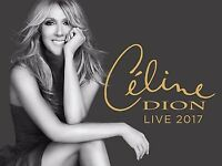 Celine Dion SECOND ROW Glasgow 2 or 3 Tickets - Once In A Lifetime The SSE Hydro Saturday 5th August