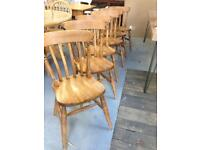 Set of 6 traditional farmhouse Dining Chairs