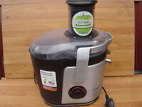 bosch mes4000gb juicer black/silver in leicester