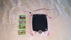 LeapFrog LeapPad Learning Tablet with 4 games