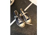 Kids blue converse size 12