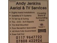 Andy Jenkins - Aerial & TV Services