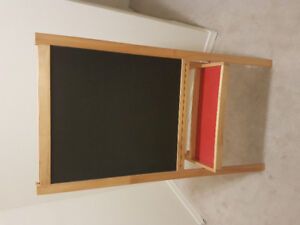 IKEA EASEL WITH DRAWING PAPER
