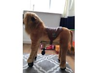 ANIMAL RIDING ride-on lion toy £150 local delivery great condition