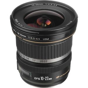 Canon EF-S 10-22mm f/3.5-4.5 USM Lens ULTRA wide-angle