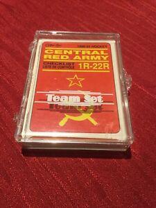 1990 O-PEE-CHEE RED ARMY #19R SERGEI FEDOROV RC