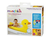 Munchkin baby bath inflatable duck