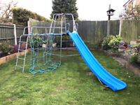 TP CLIMBING FRAME WITH JUNGLE RUN AND SLIDE