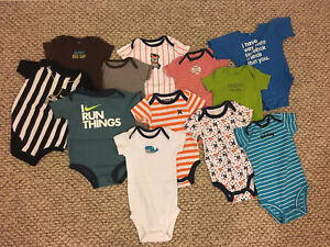 50 Item Lot of Baby Boy Clothes