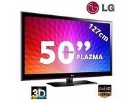 "LG 50"" Full HD 1080p 3D Plasma TV"