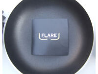 FLARE PAN SET - FRYING PAN, SAUCEPAN, CASSEROLE.