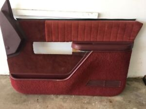 1988-1997 Chevrolet GMC truck 2 dr interior door panels.